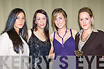Aoife Eccles, Catherine Doona, Patrice McGillicuddy and Marie McGillicuddy looking pretty at the Holy Cross fashion show in the Malton Hotel, Killarney on Thursday  .   Copyright Kerry's Eye 2008