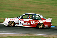 Round 10 of the 1991 British Touring Car Championship. #45 Ian Forrest (GB). Drambuie Racing. BMW M3.