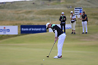 Gavin Moynihan (IRL) putts on the 15th green during Friday's Round 2 of the 2018 Dubai Duty Free Irish Open, held at Ballyliffin Golf Club, Ireland. 6th July 2018.<br /> Picture: Eoin Clarke | Golffile<br /> <br /> <br /> All photos usage must carry mandatory copyright credit (&copy; Golffile | Eoin Clarke)
