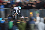 Geraint Thomas (WAL) Team Sky in action during Stage 1, a 14km individual time trial around Dusseldorf, of the 104th edition of the Tour de France 2017, Dusseldorf, Germany. 1st July 2017.<br /> Picture: ASO/Alex Broadway | Cyclefile<br /> <br /> <br /> All photos usage must carry mandatory copyright credit (&copy; Cyclefile | ASO/Alex Broadway)