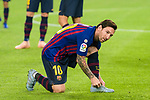 Lionel Messi of FC Barcelona during the La Liga 2018-19 match between FC Barcelona and Sevilla FC at Camp Nou Stadium on October 20 2018 in Barcelona, Spain. Photo by Vicens Gimenez / Power Sport Images