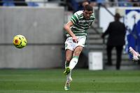 16th July 2020; Nice, France; Veolia Trohy Football friendly, OGC Nice versus Celtic FC;  Ryan Christie celtic takes a shot on goal