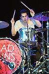 Miles Morris Kottak of Bad Suns performs at Bogarts in Cincinnati, Ohio