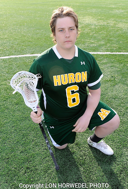 Huron High School boy's varsity lacrosse team.