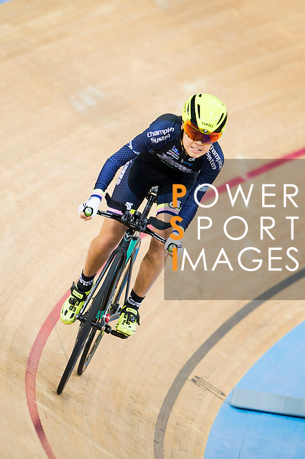 Hui Yat Nga of X SPEED in action during the 500m Time Trial Women 14-16 Final at the Hong Kong Track Cycling Race 2017 Series 5 on 18 February 2017 at the Hong Kong Velodrome in Hong Kong, China. Photo by Marcio Rodrigo Machado / Power Sport Images