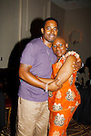 Lamman Rucker with his mom Nana Rucker - The National Black Theatre Festival with a week of plays, workshops and much more with an opening night gala of dinner, awards presentation followed by Black Stars of the Great White Way followed by a celebrity reception. It is an International Celebration and Reunion of Spirit. (Photo by Sue Coflin/Max Photos)
