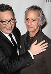 Moises Kaufman & David Strathairn attending the Broadway Opening Night After Party for 'The Heiress' at The Edison Ballroom on 11/01/2012 in New York.