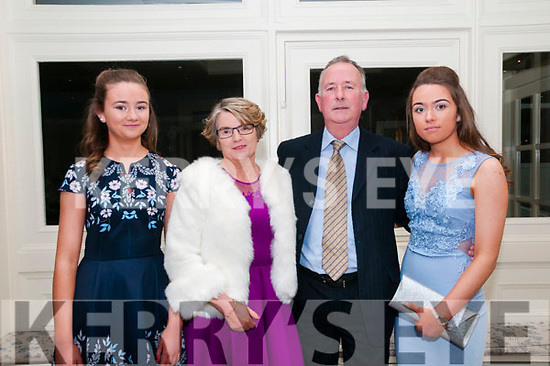 North Kerry Harriers Ball: attending the North Kerry Harriers Hunt Ball at the Listowel Arms Hotel on Saturday night last were Edel, Mary, Laurie & Rachel Martin from Ballylongford.