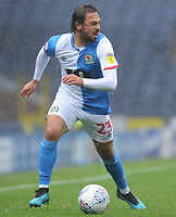 Blackburn Rovers' Bradley Dack<br /> <br /> Photographer Kevin Barnes/CameraSport<br /> <br /> The EFL Sky Bet Championship - Blackburn Rovers v Luton Town - Saturday 28th September 2019 - Ewood Park - Blackburn<br /> <br /> World Copyright © 2019 CameraSport. All rights reserved. 43 Linden Ave. Countesthorpe. Leicester. England. LE8 5PG - Tel: +44 (0) 116 277 4147 - admin@camerasport.com - www.camerasport.com
