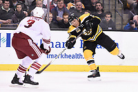 March 13, 2014 - Boston, Massachusetts , U.S. - Boston Bruins right wing Jarome Iginla (12) shoots  during the NHL game between the Phoenix Coyotes and the Boston Bruins held at TD Garden in Boston Massachusetts. Eric Canha/CSM
