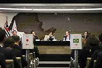 SÃO PAULO, SP, 26.08.2019 - POLITICA-SP - Tereza Cristina, Ministra da Agricultura, Pecuária e Abastecimento, participa do Diálogo Brasil-Japão, na sede da Federação dos Indústrias do Estado de São Paulo - FIESP, nesta segunda-feira, 26. (Foto Charles Sholl/Brazil Photo Press/Folhapress)
