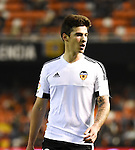 Valencia's Santi Mina during Spain King Cup match. December 16, 2015. (ALTERPHOTOS/Javier Comos)