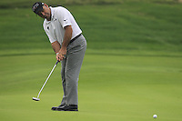Hennie Otto (RSA) putts on the 5th green during Saturay's Round 3 of the 2014 BMW Masters held at Lake Malaren, Shanghai, China. 1st November 2014.<br /> Picture: Eoin Clarke www.golffile.ie
