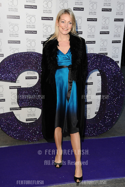 Terri Dwyer arriving for the Mamas & Papas 30th Birthday Party, Mamas & Papas Store, London. 07/03/2011  Picture by: Steve Vas / Featureflash