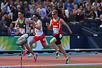 Glasgow 2014 Commonwealth Games<br /> Rhys Jones (Wales)<br /> Men's 100m T37 Heats<br /> <br /> 28.07.14<br /> ©Steve Pope-SPORTINGWALES
