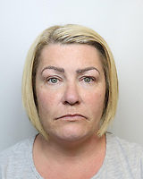 Pictured: Police custody picture of Frances Powell<br />