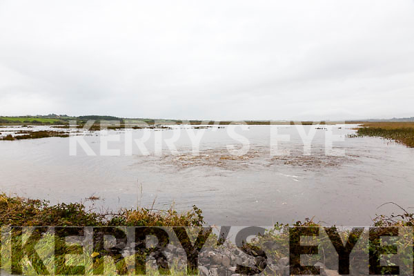 New lakes have formed on the both sides of the main Ring of Kerry road the Inny Bridge where in the early hours of Tuesday morning just over four feet of water rushed over the road.
