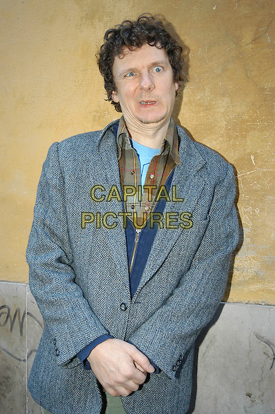 "MICHEL GONDRY .Photocall for film ""L'arte del sogno"" - ""The scince of sleep"" - ""La Science Des Reves"" at Cinema 4 fontane, Rome, Italy,.12th January 2007..half length funny face.CAP/CAV.©Luca Cavallari/Capital Pictures."