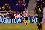 BARRANQUILLA – COLOMBIA _25-09-2013 / Atlético Junior volvió al triunfo tras vencer 1 – 0 a Deportes Quindío en el Estadio Metropolitano de Barranquilla / Luis Carlos Ruiz realizando una cabañuela.