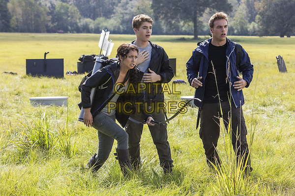 Maiara Walsh, Cody Christian<br /> in The Starving Games (2013) <br /> *Filmstill - Editorial Use Only*<br /> CAP/NFS<br /> Image supplied by Capital Pictures
