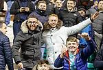 19.12.2018 Hibs v Rangers : Rangers fans