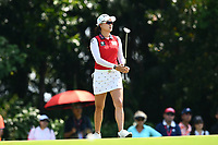SINGAPORE - MARCH 03: Minjee Lee of Australia on the 4th green during the final round of the HSBC Women's World Championship 2019 at Sentosa Golf Club - Tanjong Course, Singapore on March 03, 2019.<br /> .<br /> .<br /> .<br /> (Photo by: Naratip Golf Srisupab/SEALs Sports Images)<br /> .<br /> Any image use must include a mandatory credit line adjacent to the content which should read: Naratip Golf Srisupab/SEALs Sports Images