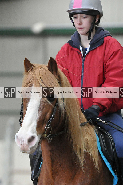 Class 5. 70cm. New year unaffiliated showjumping. Brook Farm Training Centre. Stapleford Abbotts. UK. 06/01/2018. ~ MANDATORY CREDIT Garry Bowden/Sport in Pictures - NO UNAUTHORISED USE - +44 7837 394578