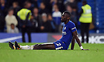 A dejected Antonio Rudiger of Chelsea at the end of the premier league match at the Stamford Bridge stadium, London. Picture date 30th September 2017. Picture credit should read: Robin Parker/Sportimage