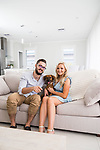 Home and life mag, My Place with Iryna Federico, blogger of From Great Beginnings with husband Dom . at her Home Lightsview  Photo : Nick Clayton.