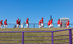 UAlbany Men's Lacrosse defeats Stony Brook on March 31 at Casey Stadium.  Stony Brook pregame.