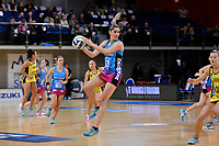 Steel's Te Paea Selby-Rickit in action during the ANZ Premiership - Pulse v Steel at Te Rauparaha Arena, Porirua, New Zealand on Wednesday 30 May 2018.<br /> Photo by Masanori Udagawa. <br /> www.photowellington.photoshelter.com