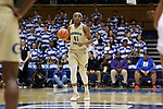 DURHAM, NC - FEBRUARY 01: Georgia Tech's Kierra Fletcher. The Duke University Blue Devils hosted the Georgia Tech University Yellow Jackets on February 1, 2018 at Cameron Indoor Stadium in Durham, NC in a Division I women's college basketball game. Duke won the game 77-59.