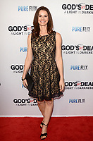 "LOS ANGELES - FEB 20:  Jennifer Taylor at the ""God's Not Dead:  A Light in Darkness"" Premiere at the Egyptian Theater on February 20, 2018 in Los Angeles, CA"