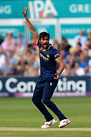 Mohammad Amir of Essex appeals for a wicket during Essex Eagles vs Surrey, NatWest T20 Blast Cricket at The Cloudfm County Ground on 7th July 2017