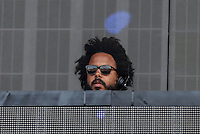 Christopher Leacock, better known by his stage name Jillionaire of MAJOR LAZER performs during The New Look Wireless Music Festival at Finsbury Park, London, England on Friday 03 July 2015. Photo by Andy Rowland.