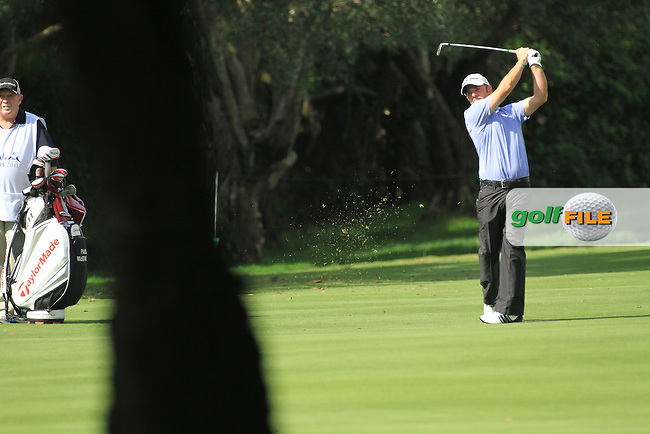 Paul McGinley (IRL) during the 1st day at the  Andalucía Masters at Club de Golf Valderrama, Sotogrande, Spain. .Picture Fran Caffrey www.golffile.ie
