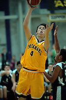 Action from the 2016 National Under-15 Basketball boys  match between Taranaki and Kapiti at ASB Sports Centre, Wellington, New Zealand on Friday, 22 July 2016. Photo: Dave Lintott / lintottphoto.co.nz