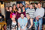 Thirty Rocks<br /> ----------------<br /> Tommy Scanlon, Cloghane , seated centre, had great fun celebrating his 30th birthday last Saturday night in O'Donnell's bar in the village along with family and friends.