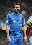 Juan Mata of Chelsea in action during the Barclays Premiere League match between Chelsea and West Ham United at Stamford Bridge on Sunday March 17, 2013 in London, England Picture Zed Jameson/pixel 8000 ltd.