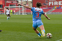 Bridgeview, IL - Sunday June 25, 2017: Arin Gilliland during a regular season National Women's Soccer League (NWSL) match between the Chicago Red Stars and Sky Blue FC at Toyota Park. The Red Stars won 2-1.