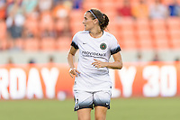 Houston, TX - Saturday July 16, 2016: Katherine Reynolds during a regular season National Women's Soccer League (NWSL) match between the Houston Dash and the Portland Thorns FC at BBVA Compass Stadium.