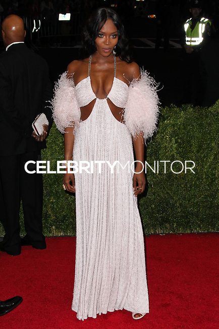 "NEW YORK CITY, NY, USA - MAY 05: Naomi Campbell at the ""Charles James: Beyond Fashion"" Costume Institute Gala held at the Metropolitan Museum of Art on May 5, 2014 in New York City, New York, United States. (Photo by Xavier Collin/Celebrity Monitor)"