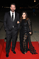 Nick Knowles and Pascal Craymer<br /> arriving for the 2017 NSPCC Britain&rsquo;s Got Talent Childline Ball at Old Billingsgate, London<br /> <br /> <br /> &copy;Ash Knotek  D3315  28/09/2017