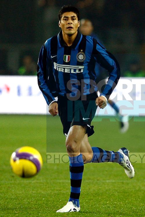 Julio Cruz of Inter Milan