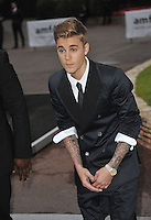 Justin Bieber  at the 21st annual amfAR Cinema Against AIDS Gala at the Hotel du Cap d'Antibes.<br /> May 22, 2014  Antibes, France<br /> Picture: Paul Smith / Featureflash