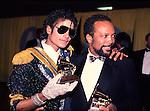 Michael Jackson 1984 Grammy Awards with Quincy Jones