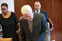 NOVA YORK, EUA, 14.01.2019 - PALESTINA-ONU -O presidente da Palestina  Mahmoud Abbas é visto na sede das Nações Unidas em Nova York nos Estados Unidos nesta segunda-feira, 14. (Foto: William Volcov/Brazil Photo Press)