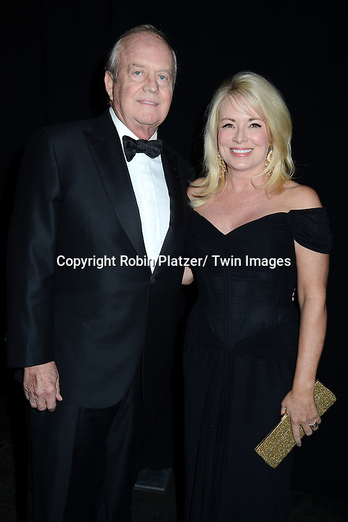 Phillip Guyer and Julie Weindlin attend the 2013 Whitney Gala & Studio party honoring artist Ed Ruscha on October 23, 2013 at Skylight at Moynihan Station in New York City.