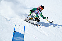 &circ;Day 2 / Super GS / Victoria Pendergast<br /> PyeongChang 2018 Paralympic Games<br /> Australian Paralympic Committee<br /> PyeongChang South Korea<br /> Sunday March 11th 2018<br /> &copy; Sport the library / Jeff Crow