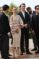 Lily Collins and Paul Dano at the Photocall &laquo;OKJA` - 70th Cannes Film Festival on May 19, 2017 in Cannes, France.<br /> CAP/LAF<br /> &copy;Lafitte/Capital Pictures<br /> Lily Collins and Paul Dano at the Photocall &acute;OKJA` - 70th Cannes Film Festival on May 19, 2017 in Cannes, France.<br /> CAP/LAF<br /> &copy;Lafitte/Capital Pictures /MediaPunch ***NORTH AND SOUTH AMERICAS, CANADA and MEXICO ONLY***